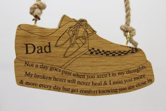 bespoke memorial plaque made just for you etsy