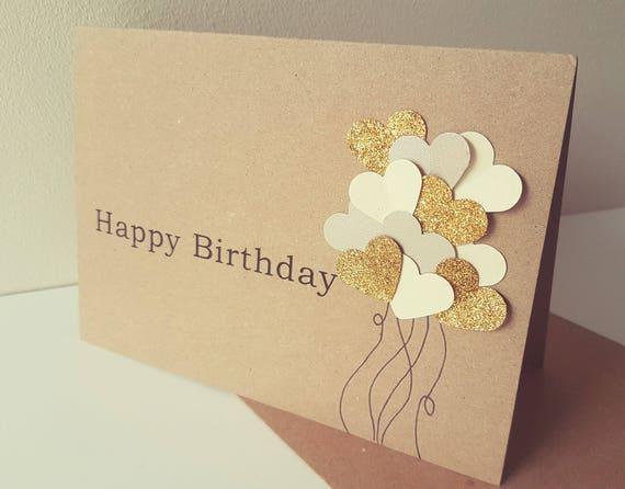 Unique Personalised Birthday Card Free Uk Postage Unisex Etsy