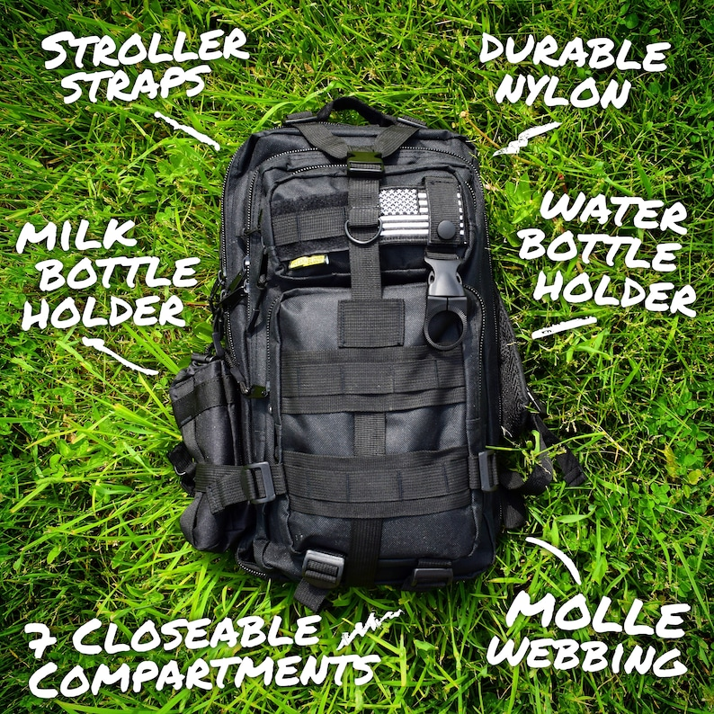 The 24 Hour Ultimate Diaper Bag for Dads image 0