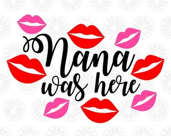 Download Nana svg | Etsy