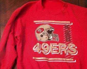 Vintage 90s 49ers Sweatshirt
