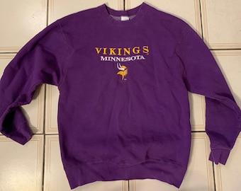 Minnesota vikings sweatshirt | Etsy