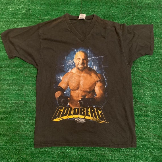 Vintage WCW Goldberg T-Shirt - Large