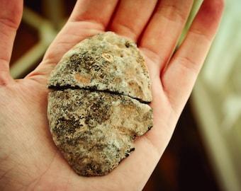 Small Druzy Geode Pair