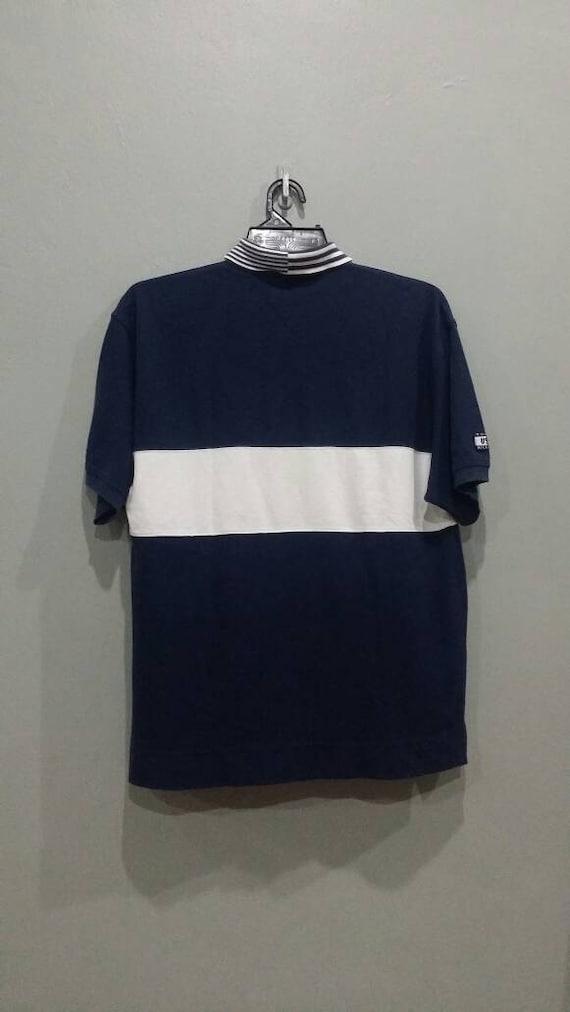 Neu Tommy Hilfiger Poloshirt Hemd T Shirt 90s Vintage