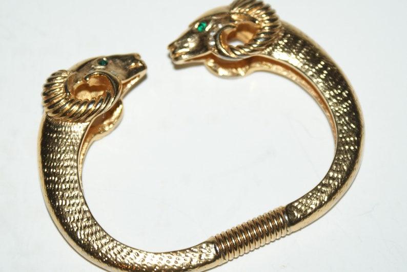 Kenneth J Lane Ram Clamper Bracelet For Avon