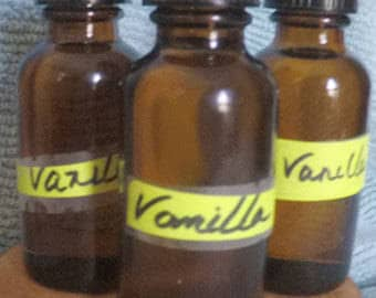 1 oz Fragrance oils in Brown Bottles MANY SCENTS AVAILABLE!