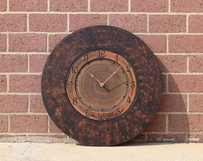 "24"" Steampunk Wall Clock"