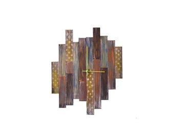 """8"""" Small Shiplap Wall Clock"""