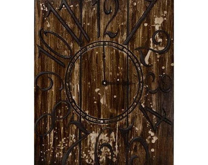 "Brown Steampunk 18"" x 24"" Wall Clock"