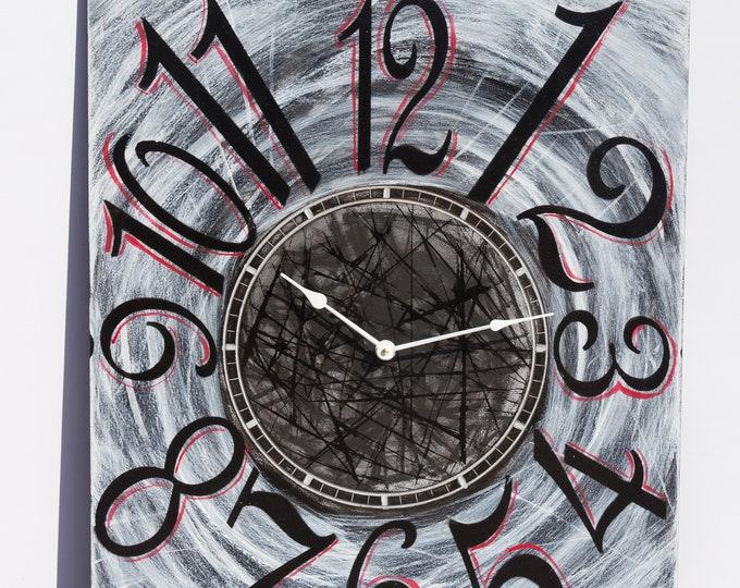 """24"""" x 30"""" """"Spider Web"""" Wall Clock"""