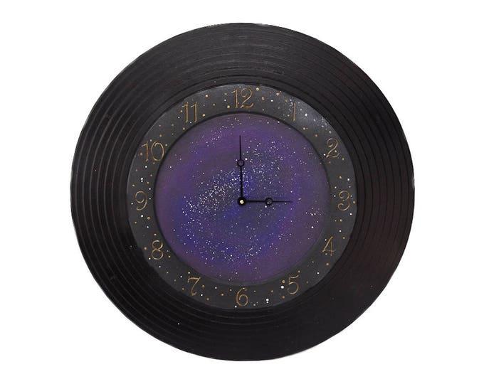 """Out of This World 24"""" Galaxy Circle Wall Clock"""