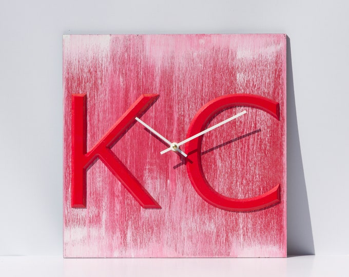 Unique 12x12 Inch KC clock