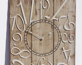 """24"""" x 30"""" Jumbled Wall Clock"""
