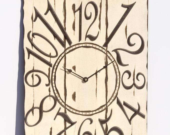 18x24 Inch Light Cream Wall Clock