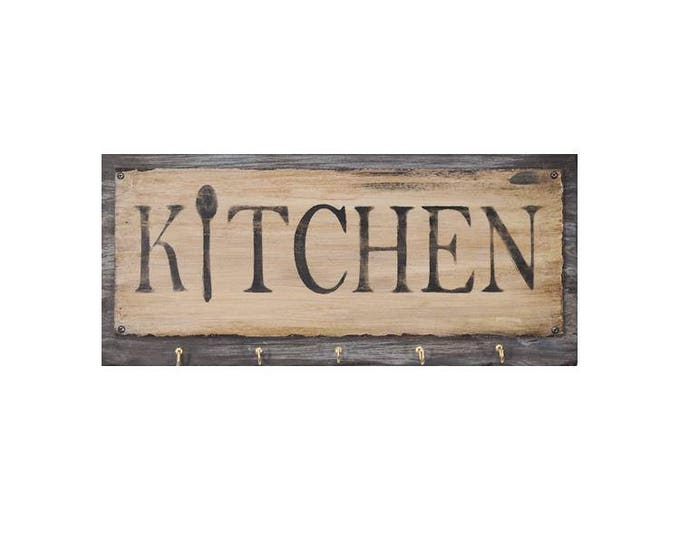 Hanging Kitchen Utensil Rack
