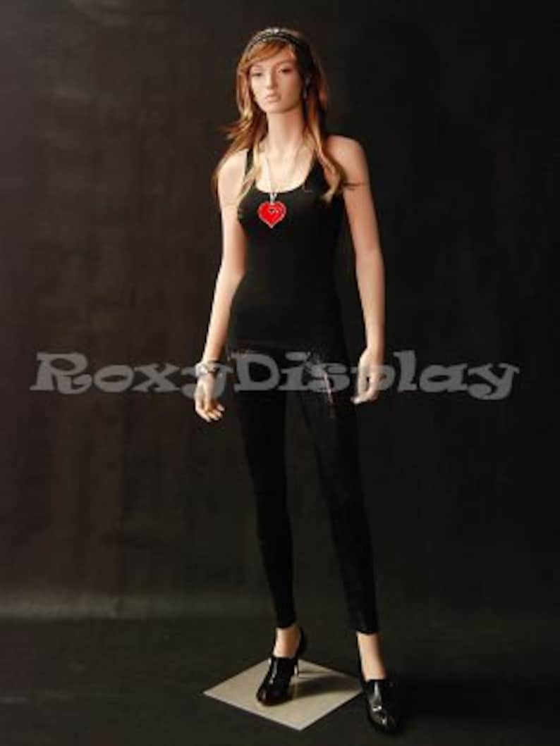 Women/'s Fleshtone Full Body Ladies Mannequin With Realistic Pretty Detailed Face #A3F1