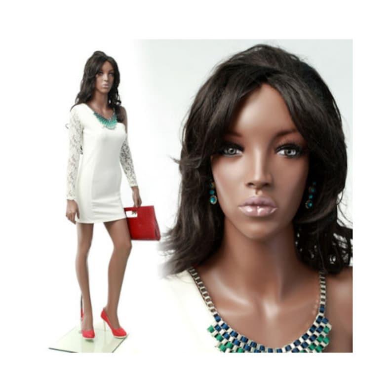 African American Women/'s Full Body Realistic Mannequin #MYA2