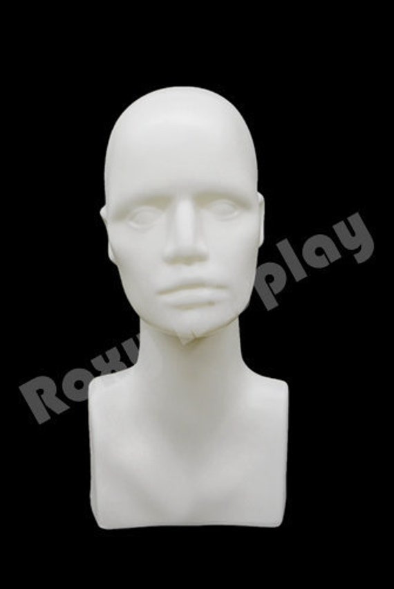 Female Mannequin Head Bust Wig Hat Jewelry Display #VF003