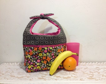 Baby flower tote