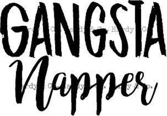 Gangsta Napper Etsy