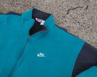 Vintage OG Nike gray tag color block sweatshirt XL