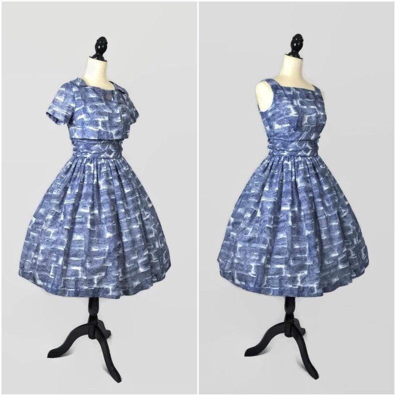 Vintage 50s Day Dress