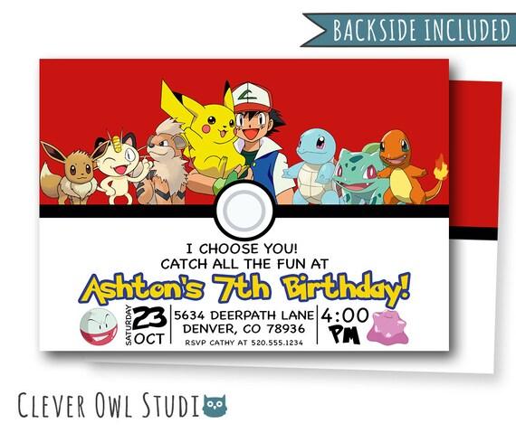picture about Printable Pokemon Birthday Invitations titled Pokemon Invitation, Pokemon Birthday Invitation, Pokemon Invites, Pokemon Get together, Printables, Custom made, Charmander Invites