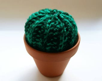 Small Hand Crocheted Cactus