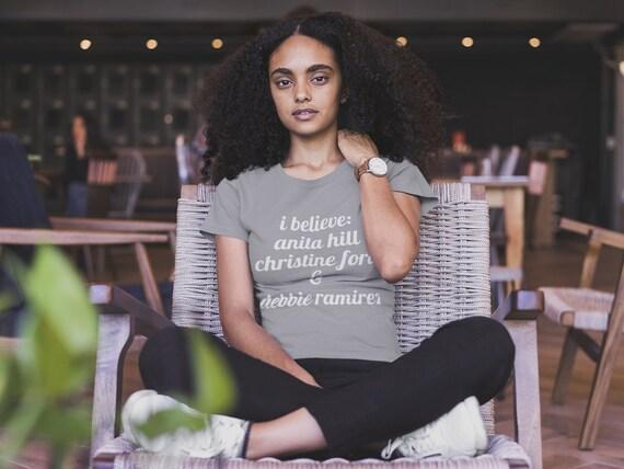 Feminist Shirt Feminist Tank Dr Ford Anita Hill TShirt Feminism Gift Believe Women Tank Top Women/'s Rights T-Shirt Blasey Ford Tshirt