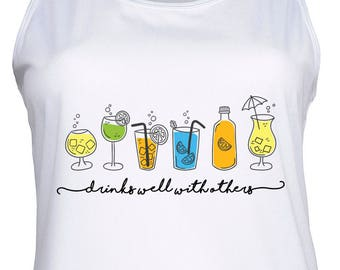 Drinks Well With Others Vest