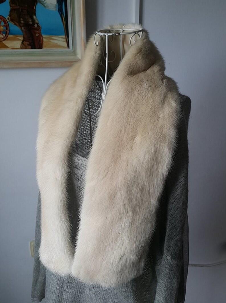 White Fur Stole >> White Mink Fur Shawl Mink Fur Collar Mink Fur Stole Nerz Pelz Mink Fur Pelt White Mink Fur Real Mink Fur Echt Nerz Weiss Nerz Pelz