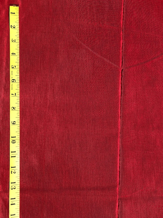 by the Yard Valentine Red Bengaline Faille Fabric