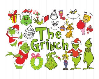 instant download the grinchmas svg bundle the grinch christmas svg files grinchmas clipart the grinch movies grinchmas svg files