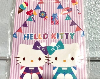 2012 New Rare Sanrio HELLO KITTY mini memo pad: tea, treats, presents, flags