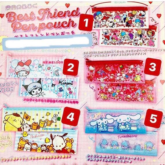 Gift Japan Free Shipping Pen Case New usable as pouch Marumofubiyori Sanrio