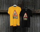 Melt the Ice NICE Road signs T-shirts
