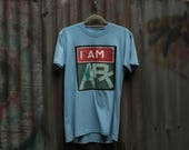 IAM…ART square Road signs T-shirts