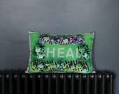 HEAL flower border lime M...