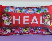 Small HEAL flower border ...