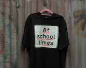 Art school me  square Road signs T-shirts
