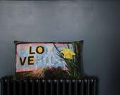 LOVEdaffodil lace cushion...