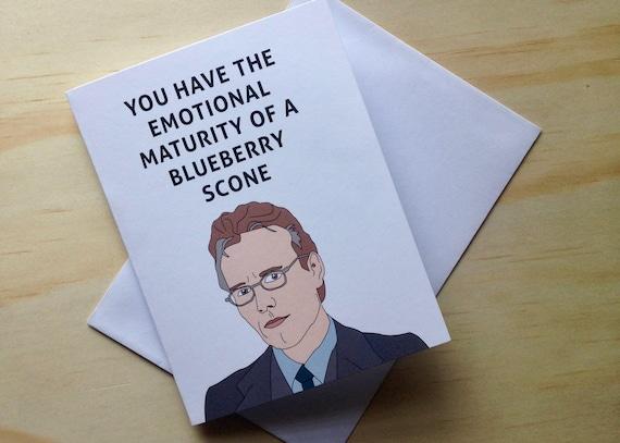 Greeting Card Buffy The Vampire Slayer Giles Watcher Etsy