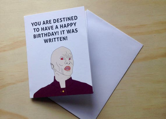 Greeting Card Buffy The Vampire Slayer The Master Destined