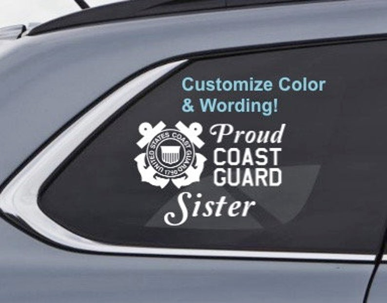 Custom Vinyl Graphic Bumper Sticker Car Personalized United States Army Decal