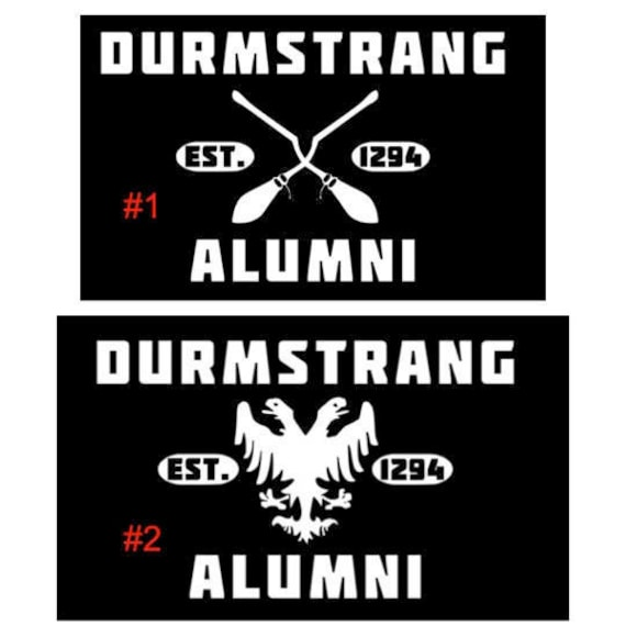 Durmstrang Alumni Car Decal Sticker Inspired By Potter Books Etsy Want to discover art related to durmstrang? etsy