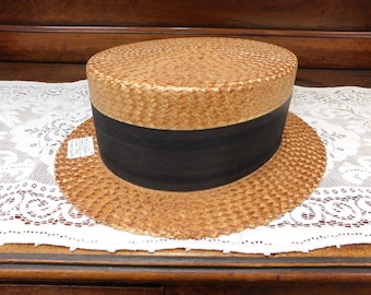 1800's Boaters Hat
