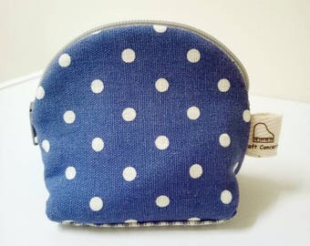 Polydot mini coin purse