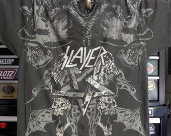 Slayer Heavy Metal Clothing Concert tees Concert Shirt Heavy Metal Shirt - Slayer All-Over Print t shirt