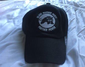 los angeles 9ca44 53c47 Black Panther Unstructured Dad Hat, Dad Hat